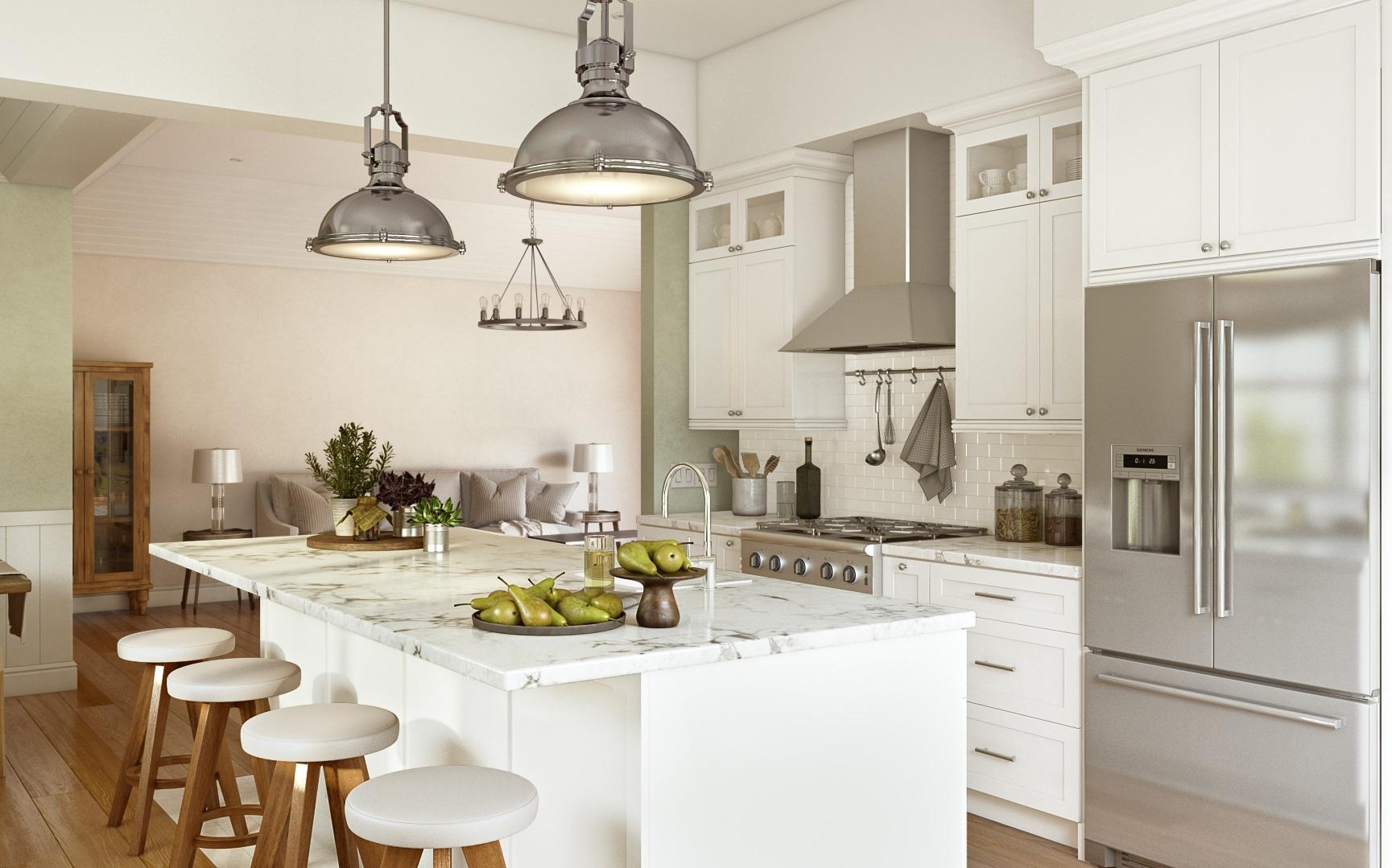 Off white kitchen