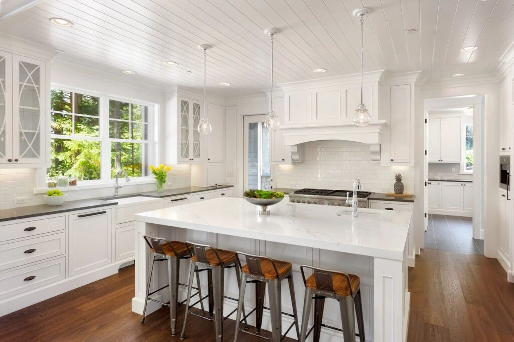 Step Shaker White Kitchen